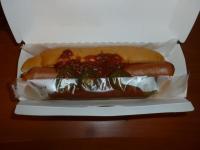 摩斯漢堡の辣味吉利熱狗堡130906