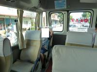 花蓮海洋公園行きの送迎バスで130919