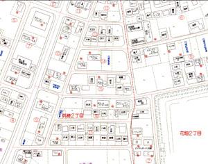 筑穂2丁目 地図