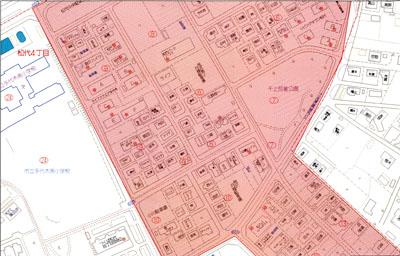 松代4丁目 地図