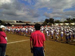 東小学校 運動会