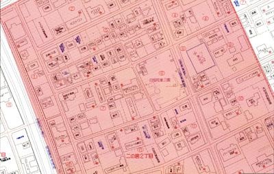 二の宮2丁目 地図