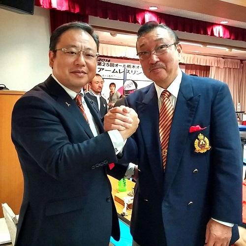 ≪AJAF第25回オール栃木オープンアームレスリング選手権大会≫へ!①
