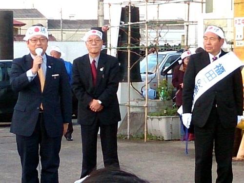 衆議院総選挙 栃木2区<福田あきお>河内・上河内地区 出陣式!