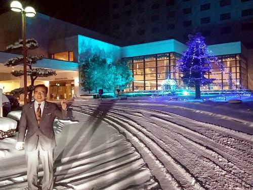 吹雪の那須高原…(^^;) ①