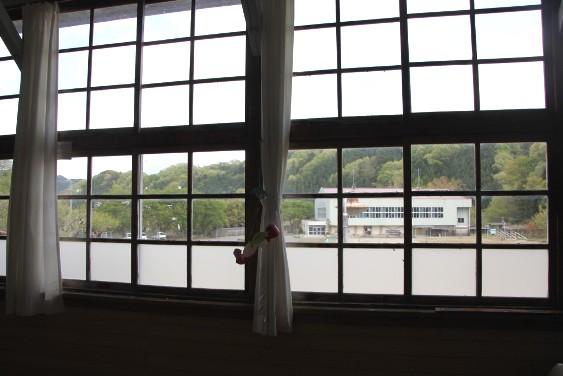 教室からの眺め
