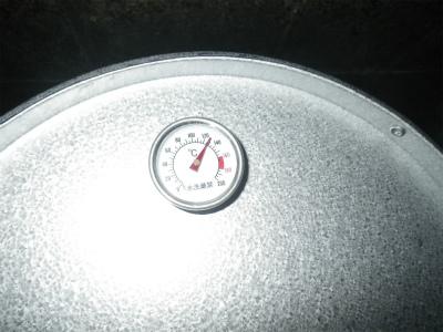 高温である