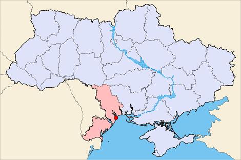 オデッサ地図