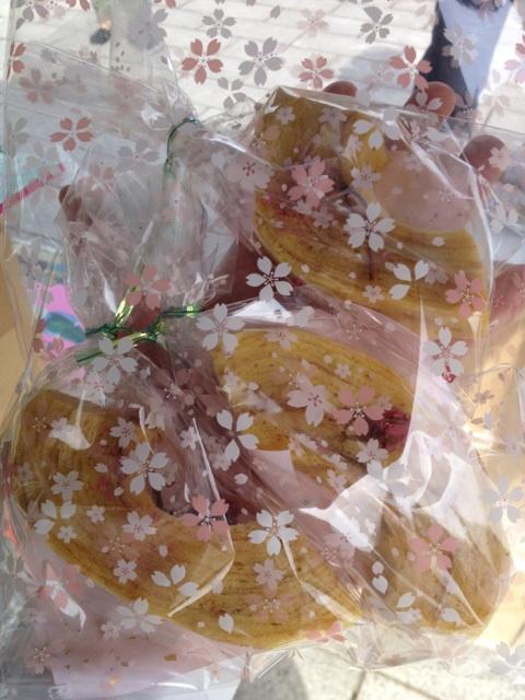 2012 4月15日 恋愛祭り バームクーヘン作り