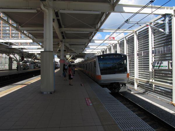 2012年5月20日より使用を開始した武蔵小金井駅4番線(上り本線)。