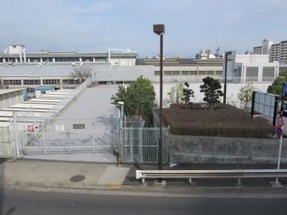 りんかい線大井町変電所。