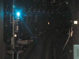 大井町駅発車直前。