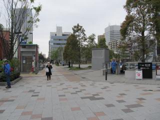勝どき駅A4a・A4b出入口