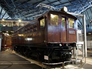 直流電気機関車ED17形1号機