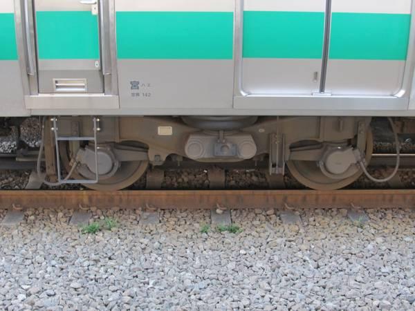 台車は電動台車がDT71AもしくはB、付随台車がTR255もしくはA