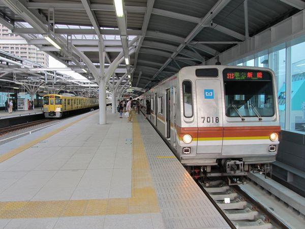 2面4線化が完了した石神井公園駅
