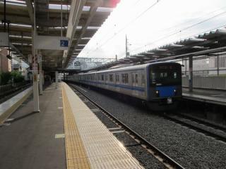 ホームの2面3線化が完成した保谷駅。