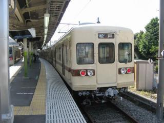 新京成電鉄初の自社新造車両である800形。