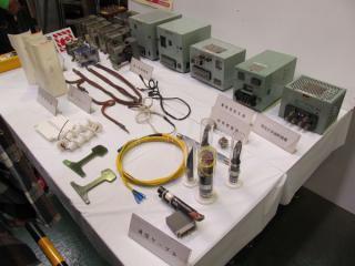 軌道・信号関係の展示