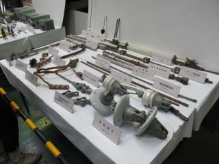 :架線・電機関係の展示
