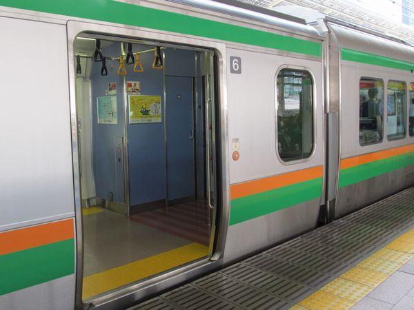 田町車両センター・高崎車両センター所属編成は6号車に一般型の洋式トイレが追加された。