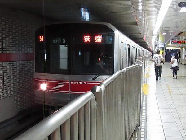 丸ノ内線02系更新車