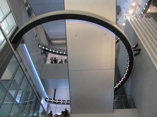 地下2階~4階の吹き抜け(アーバンコア)