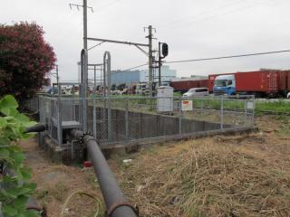 入出庫線(旧京葉線上り線)の坑口