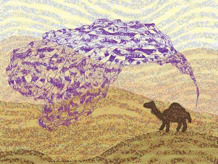 *砂漠の船11