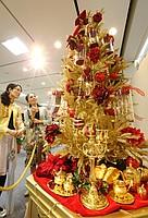 10億円のクリスマスツリー