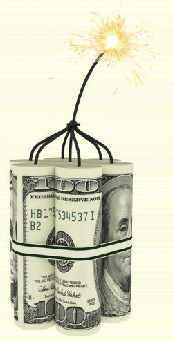 アメリカ国債が危ない