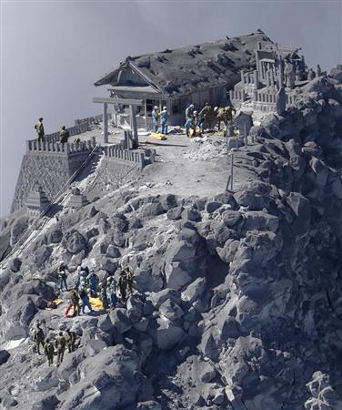 御嶽山 山頂の御嶽神社 犠牲者多数