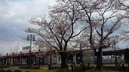 20130413中条駅前3