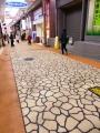 垂水商店街の新しい舗装