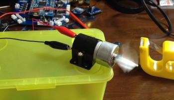 ダイセンロボサイトモーターの特性を計測1