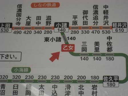 乙女駅はここ