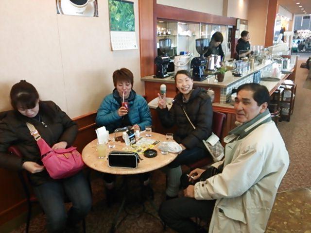 新潟空港にて