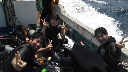4月30日 三浦湾テーブルサンゴ