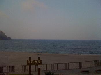 8月14日 朝の前浜