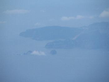 空から神津島 その2