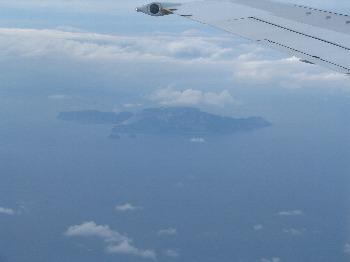 空から神津島 その1