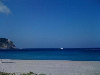 海綺麗です、リゾート地みたいでしょう。