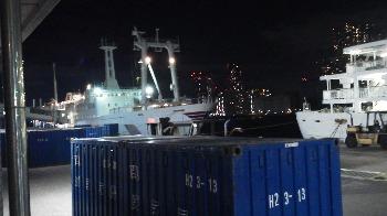9月16日の竹芝桟橋