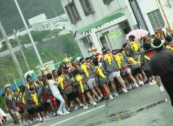 神津島の御神輿
