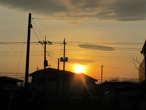 20120330・悲しいほど今日の夕陽きれいだね5