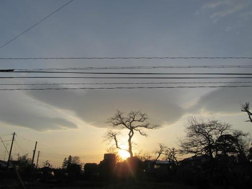 20120330・悲しいほど今日の夕陽きれいだね3