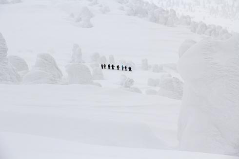 八甲田山樹氷(2)-8