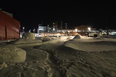 駅前夜景-4