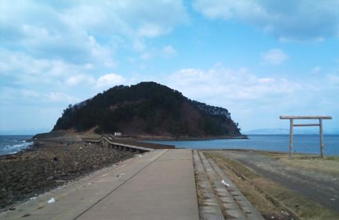 夏泊半島の大島-2