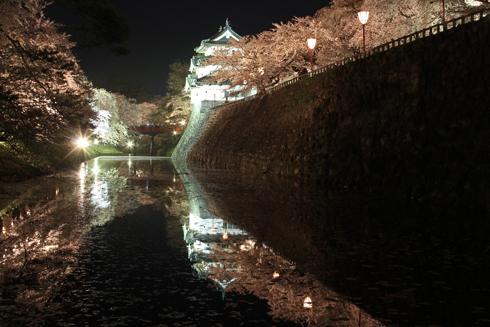 弘前城公園夜景(1)-8